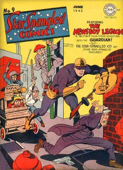 Star-Spangled Comics Vol 1 9