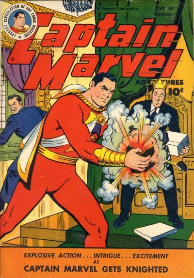 Captain Marvel Adventures Vol 1 69