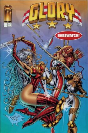 Cover for Glory #8 (1995)