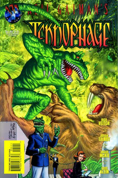 Neil Gaiman's Teknophage Vol 1 5