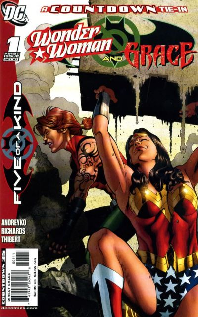 Outsiders: Five of a Kind - Wonder Woman/Grace Vol 1 1
