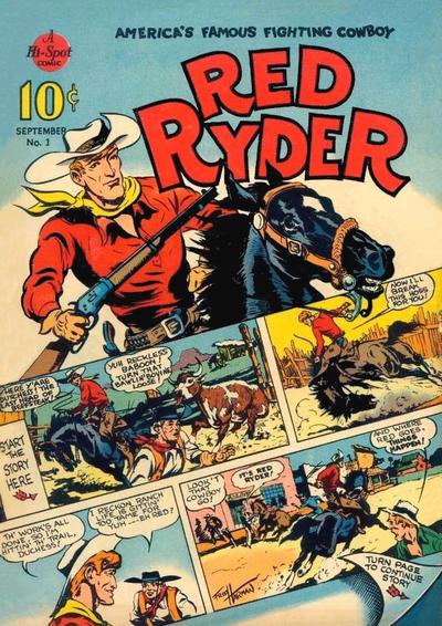 Red Ryder Comics Vol 1