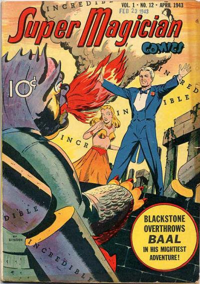 Super-Magician Comics Vol 1 12