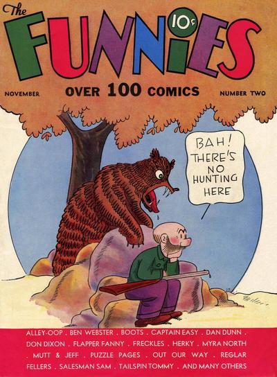 The Funnies Vol 2 2