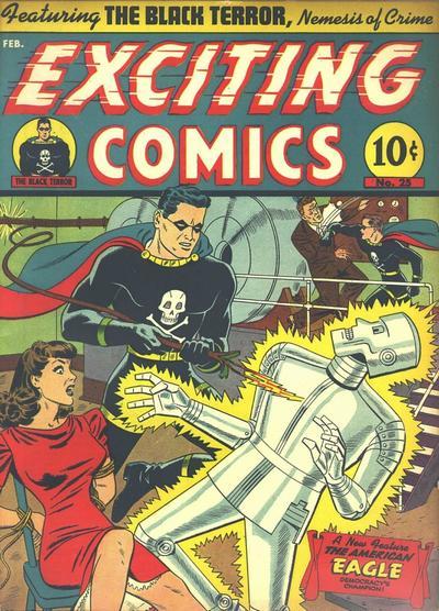 Exciting Comics Vol 1 25