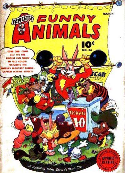 Fawcett's Funny Animals Vol 1 36