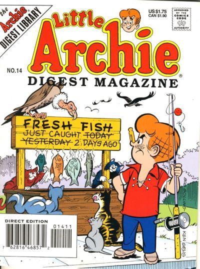 Little Archie Digest Magazine Vol 1 14