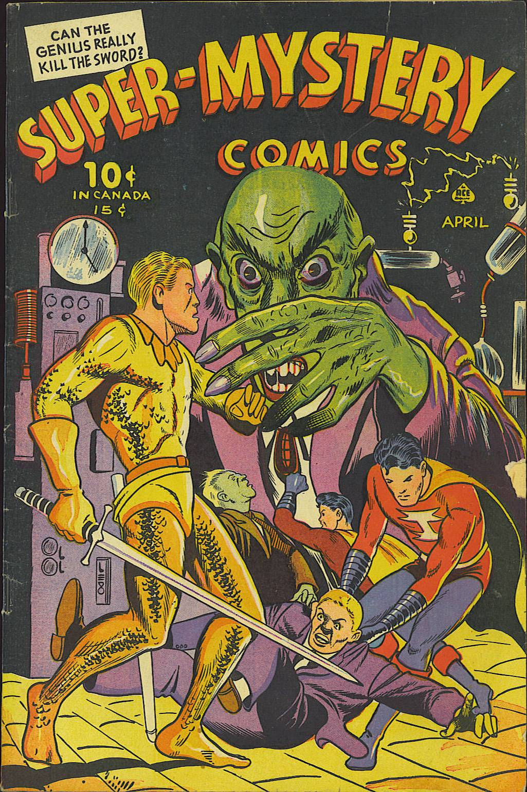 Super-Mystery Comics Vol 4 6