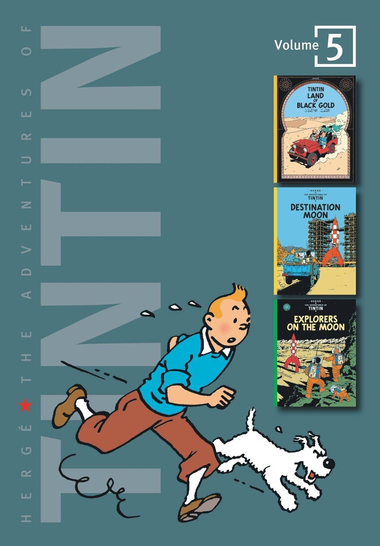 Adventures of Tintin Hardcover Vol 1 5