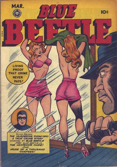 Blue Beetle (Fox) Vol 1 54