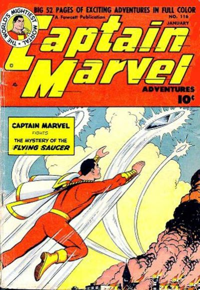 Captain Marvel Adventures Vol 1 116