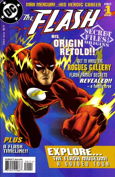 Flash Secret Files and Origins Vol 1 1