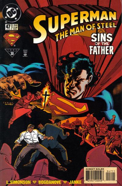 Superman: Man of Steel Vol 1 47