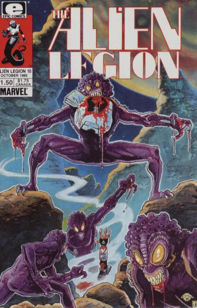 Alien Legion Vol 1 10