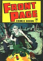 Front Page Comic Book Vol 1 1
