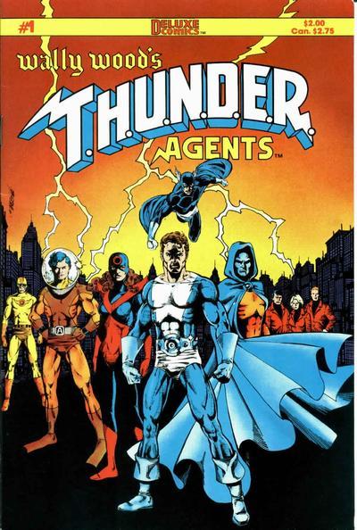 Wally Wood's T.H.U.N.D.E.R. Agents Vol 1 1