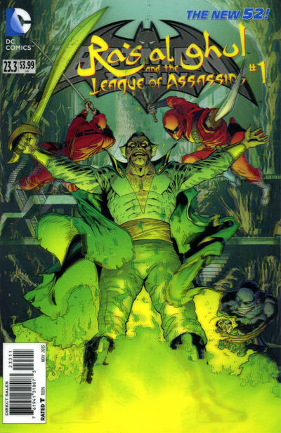 Batman and Robin Vol 2 23.3: Ra's al Ghul and the League of Assassins
