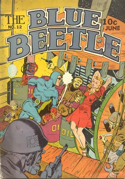 Blue Beetle (Holyoke) Vol 1 12