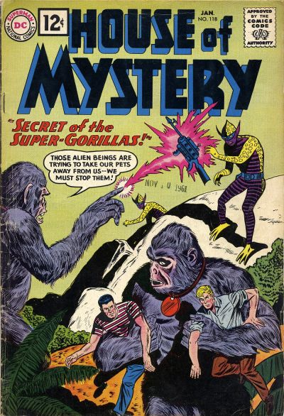 House of Mystery Vol 1 118