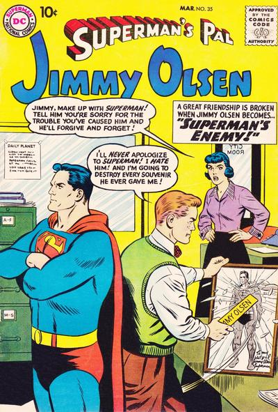 Superman's Pal, Jimmy Olsen Vol 1 35