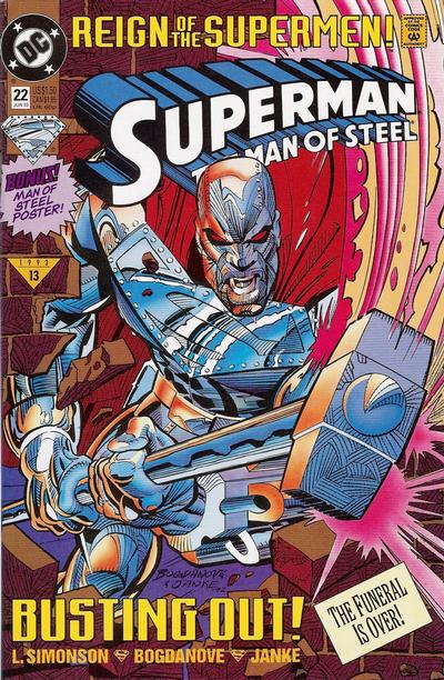 Superman: Man of Steel Vol 1 22
