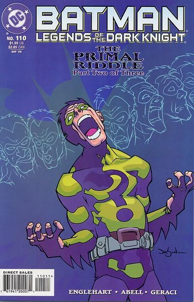 Batman: Legends of the Dark Knight Vol 1 110