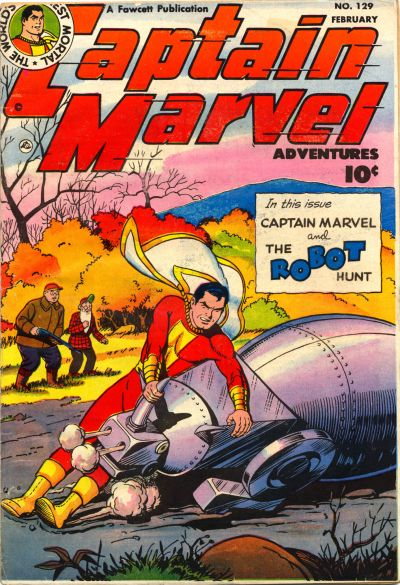 Captain Marvel Adventures Vol 1 129