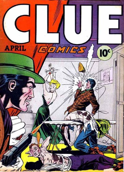 Clue Comics Vol 2 2