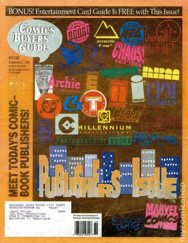 Comics Buyers Guide Vol 1 1138