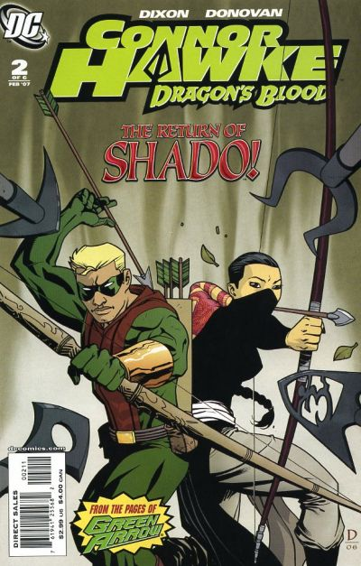 Connor Hawke Dragon's Blood Vol 1 2