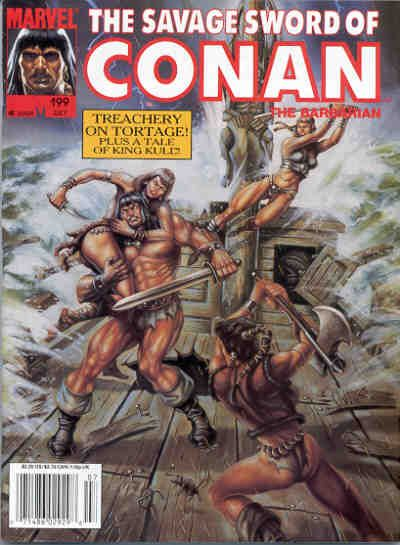 Savage Sword of Conan Vol 1 199