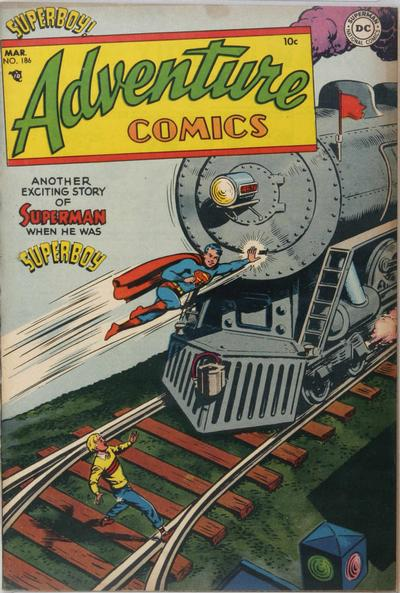 Adventure Comics Vol 1 186