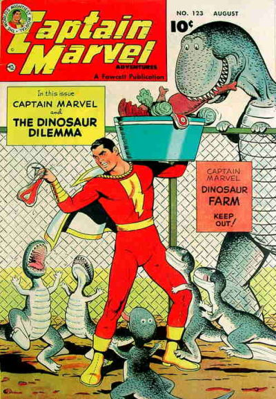 Captain Marvel Adventures Vol 1 123