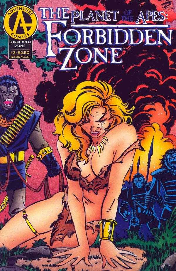 Planet of the Apes: The Forbidden Zone Vol 1 3