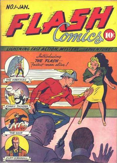 Flash Comics Vol 1