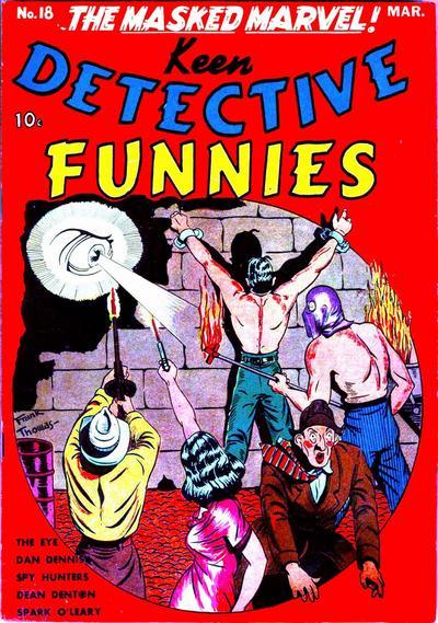 Keen Detective Funnies Vol 1 18