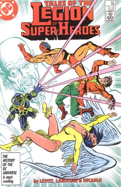 Legion of Super-Heroes Vol 2 347