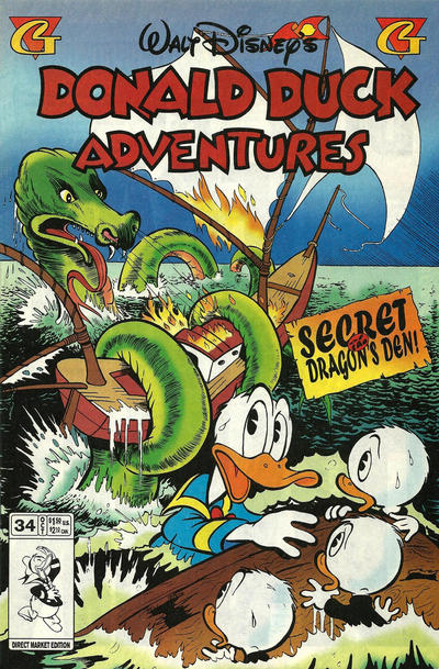Walt Disney's Donald Duck Adventures Vol 1 34