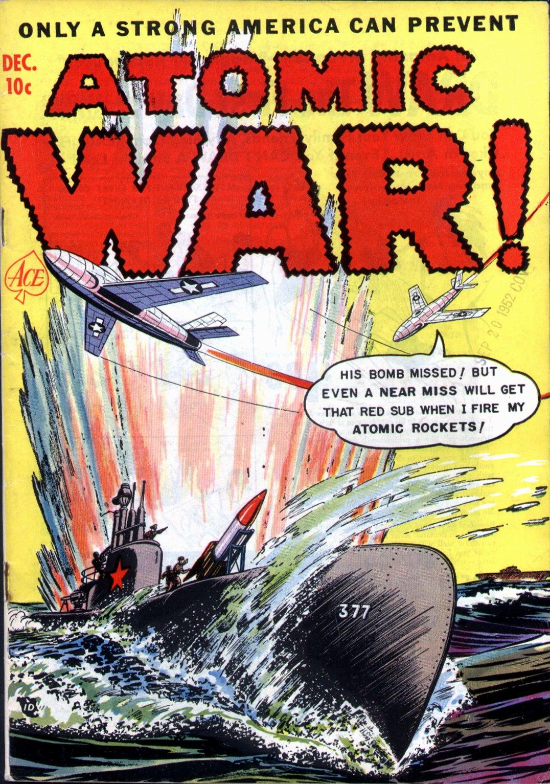 Atomic War! Vol 1 2