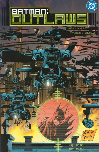 Batman: Outlaws/Covers