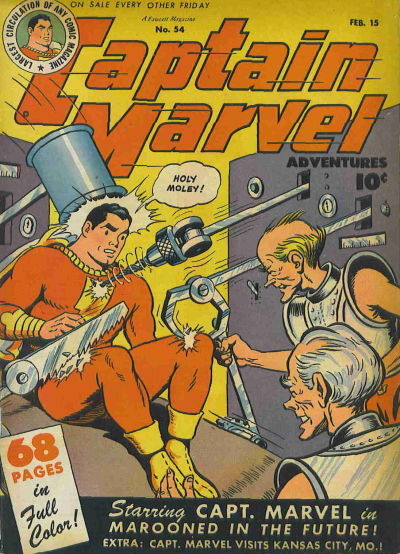 Captain Marvel Adventures Vol 1 54