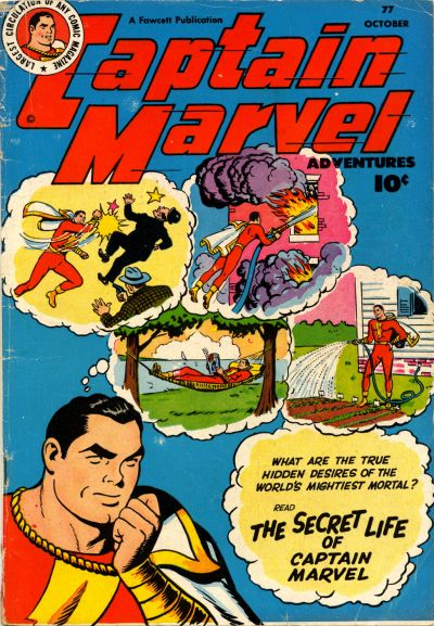 Captain Marvel Adventures Vol 1 77