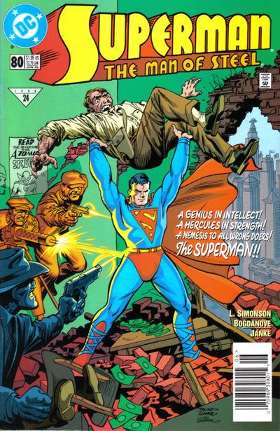 Superman: Man of Steel Vol 1 80