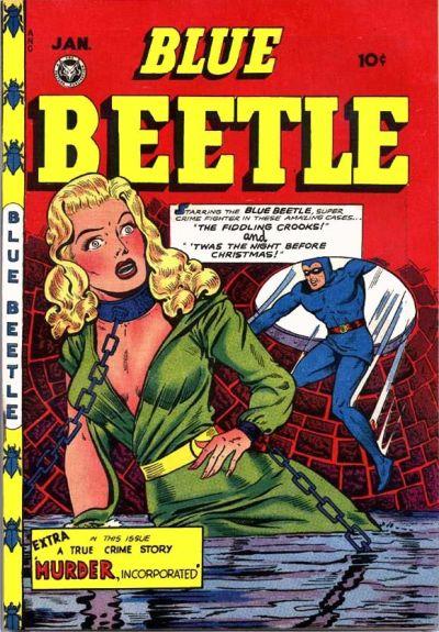 Blue Beetle (Fox) Vol 1 52