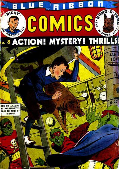 Blue Ribbon Comics Vol 1 8