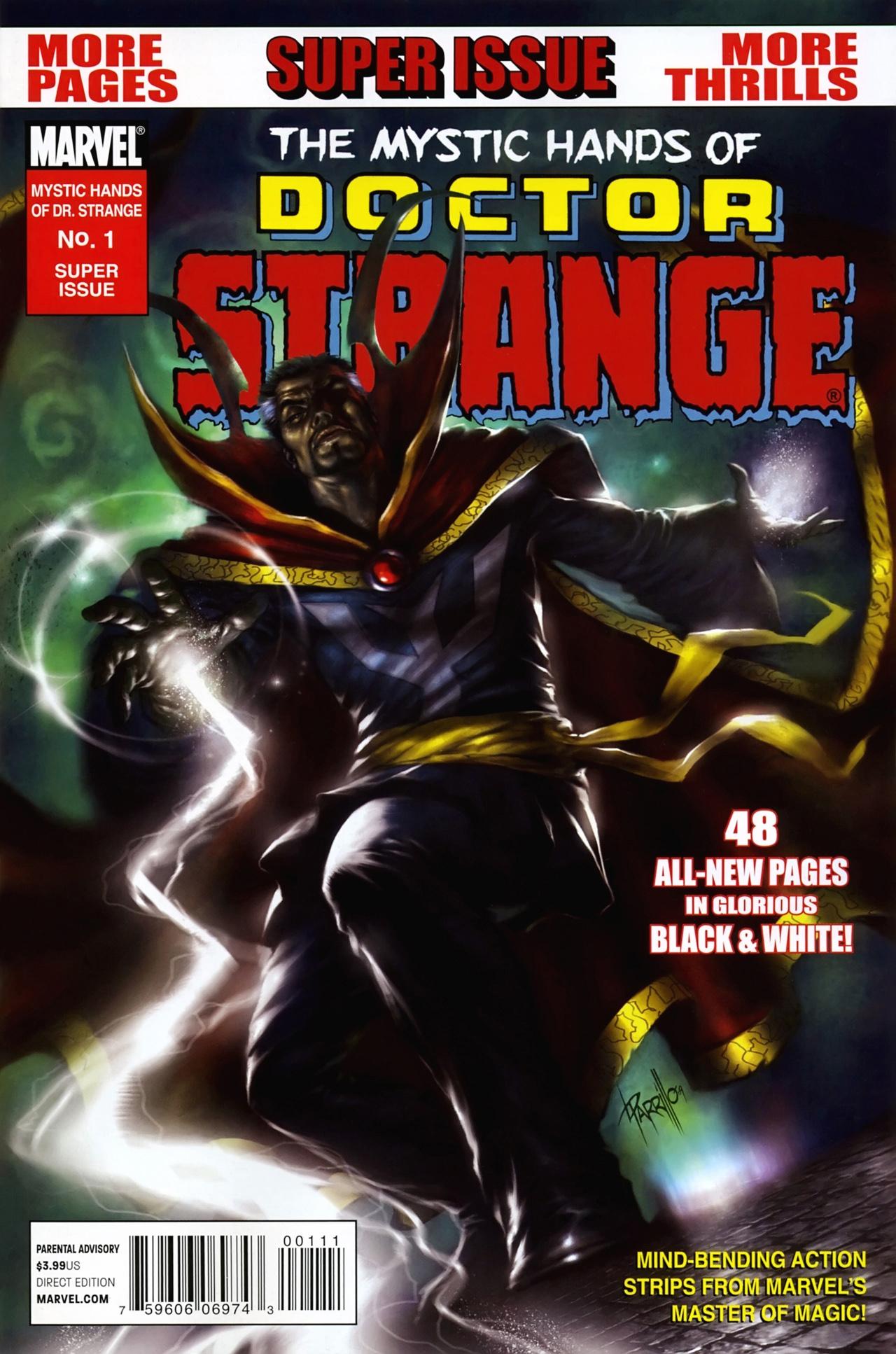 Mystic Hands of Dr. Strange Vol 1 1