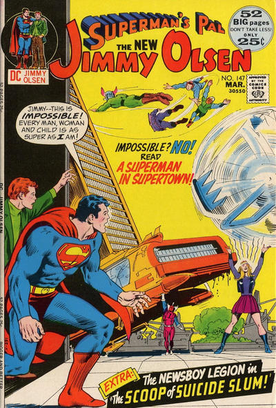 Superman's Pal, Jimmy Olsen Vol 1 147
