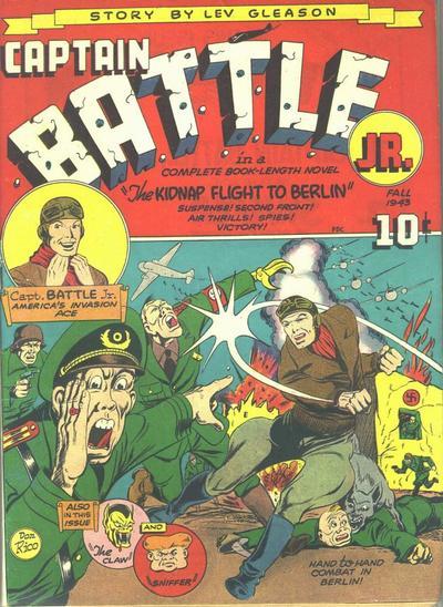 Captain Battle Jr. Vol 1 1