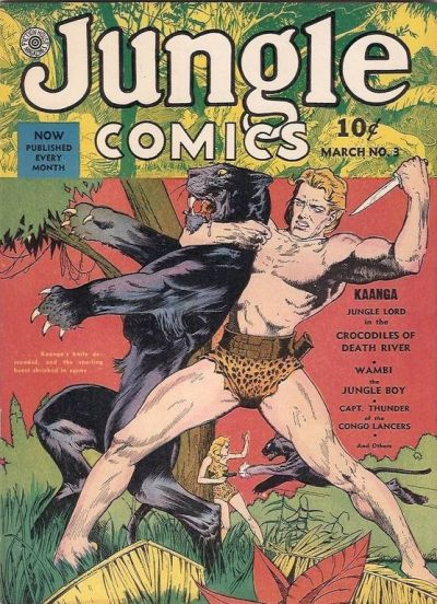 Jungle Comics Vol 1 3