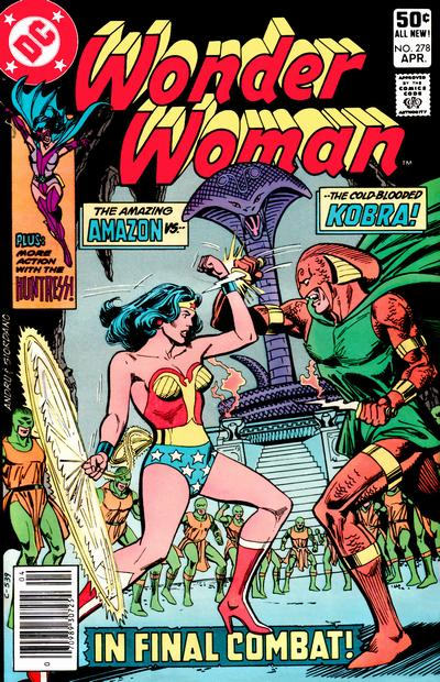 Wonder Woman Vol 1 278